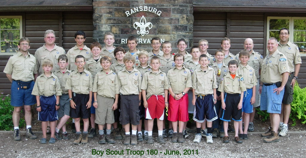 Troop 180 - Summer Camp Attendees 2011